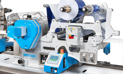 Cartes SEMIROTARY GEARLESS FLEXO VARNISHING UNIT FOR GT SERIES